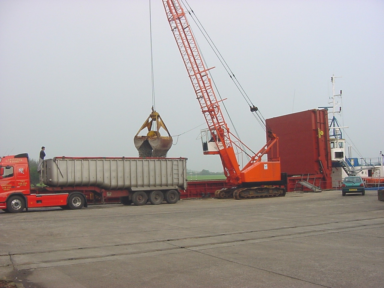 Commercial Shipping Northern Ireland, Bulk Cargo Northern Ireland,
