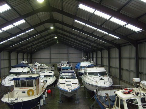Dry Boat Storage Northern Ireland, Yacht Storage, Yacht Repairs