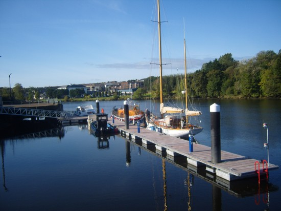 Coleraine Harbour, Commercial Shipping Northern ireland, Boat Storage, Yacht Repairs